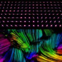 Невероятные изображения, полученные на 4D микроскопе, показывают молекулярные структуры похожие на психоделическое искусство