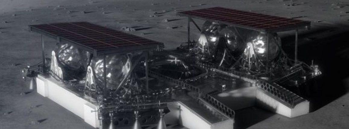 НАСА показало дизайн лунного посадочного модуля