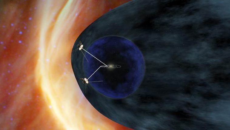 НАСА: Стена раскаленной плазмы окружает нашу солнечную систему