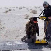 Ученые находят след человека на древнем пути мамонтов, используя 3D радар