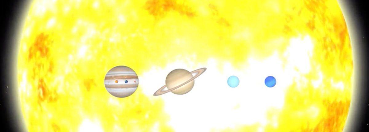 Астроном показал истинный размер нашей Солнечной системы