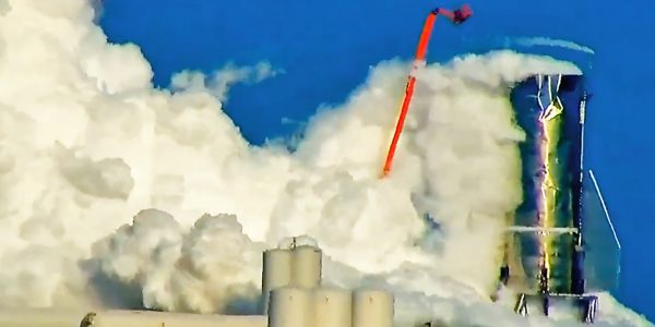 Видео: Прототип космического корабля SpaceX взорвался во время теста