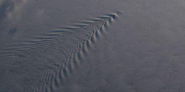 Камеры МКС запечатлели необъяснимые звуковые волны в атмосфере Земли