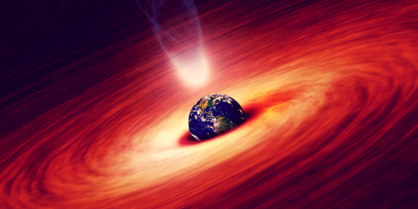 Что случится, если Земля столкнется с черной дырой?