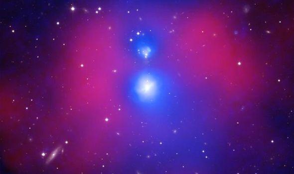 Космический феномен: самое сильное столкновение галактик