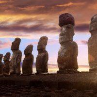 Новое открытие предназначения каменных идолов с острова Пасхи