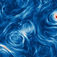 Чистый хаос магнитных полей может объяснить интенсивный блеск черных дыр