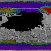 НАСА идентифицирует области Марса с водяным льдом прямо под