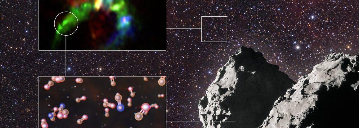 Ученые заявляют, что чрезвычайно важный жизненный элемент возник в глубоком космосе