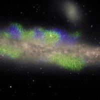 Удивительный снимок показывает мощные магнитные «нити», окружающие галактику Кит