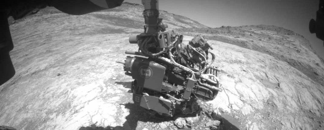 Неожиданный сбой остановил марсоход Curiosity