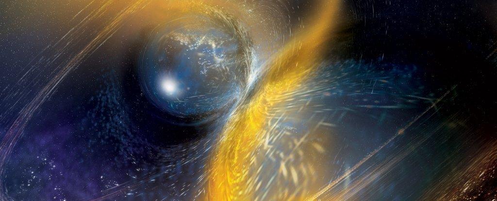 Астрономы только что обнаружили эпическое столкновение нейтронных звезд
