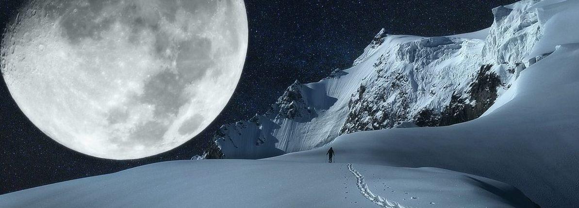 В эти выходные мы увидим «Снежную Суперлуну». Вот что это значит