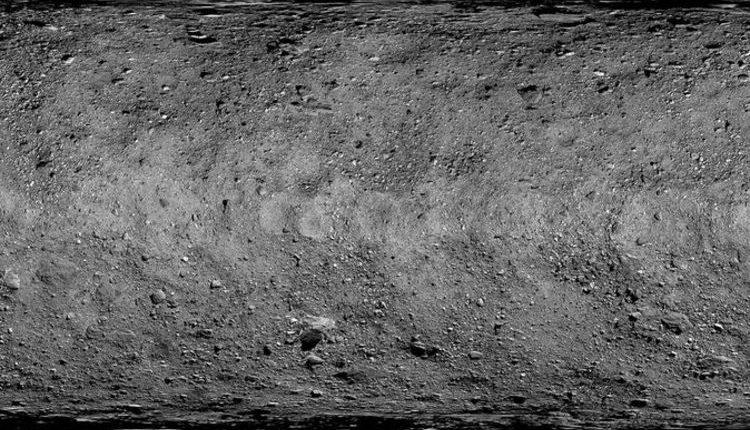 NASA показало карту потенциально опасного астероида
