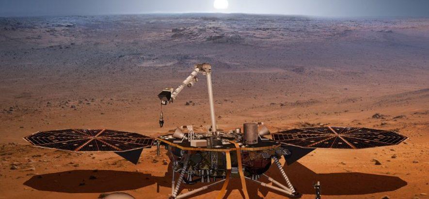 Магнитные поля вокруг зонда InSight на Марсе в 10 раз сильнее, чем ожидали ученые