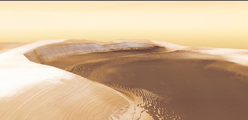 На Марсе обнаружена ранее невиданная химическая реакция