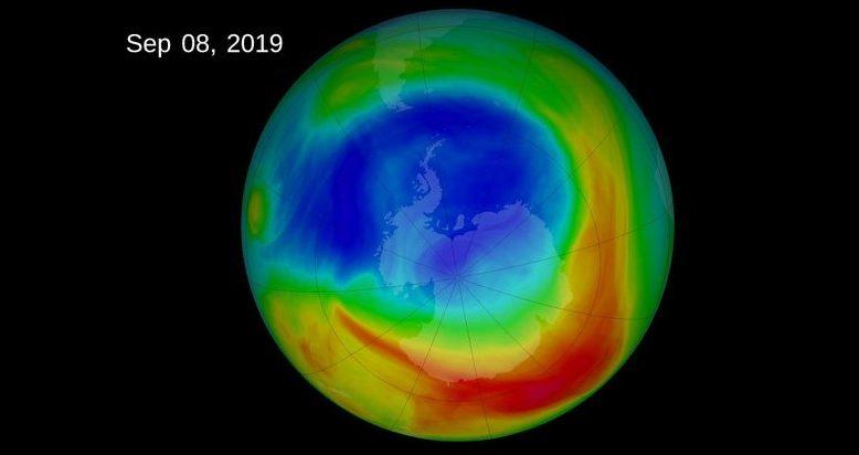 Озоновый слой Земли восстанавливается, принося хорошие новости о глобальном движении ветра
