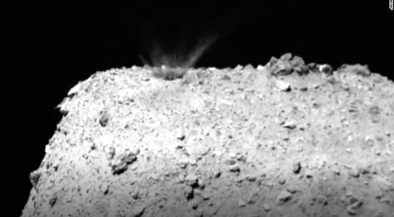 Ученые выстрелили медным яром в астероид — вот что произошло дальше