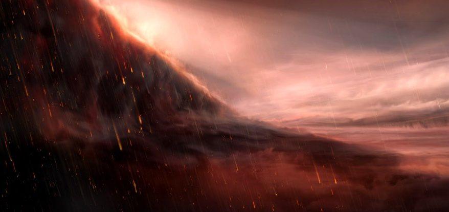 Астрономы наблюдают за планетой, настолько горячей, что на ней идет дождь из железа