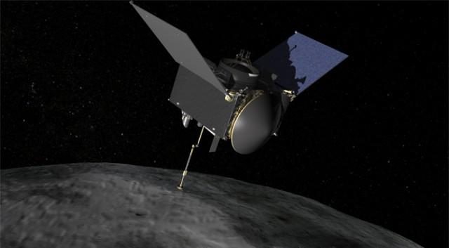 NASA планирует отрепетировать посадку на астероид Бенну