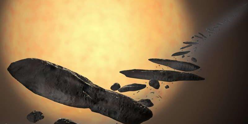 Ученые раскрыли тайну «инопланетного зонда» Оумуамуа