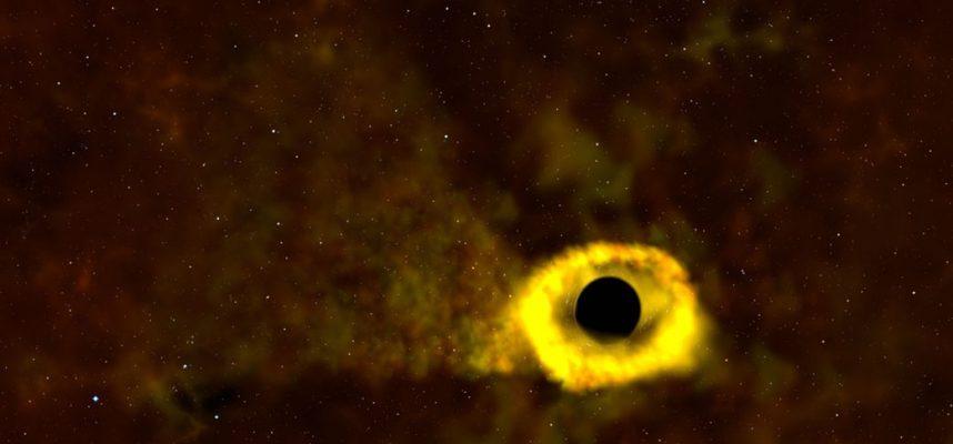 Астрономы обнаружили звезду, которая выжила, при контакте с черной дырой