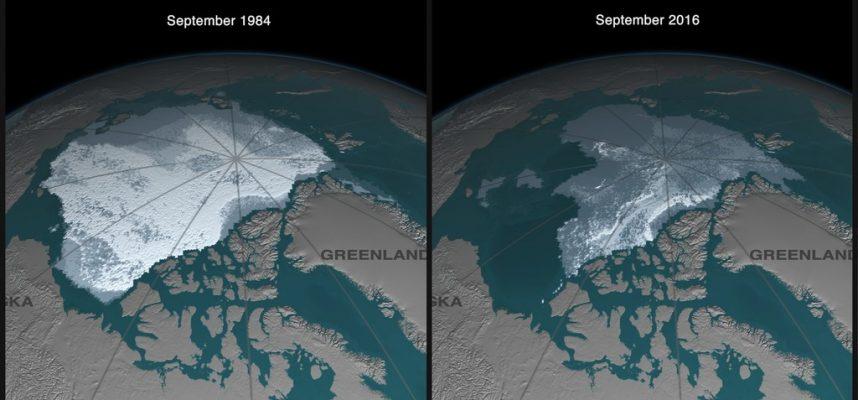 Геофизик: К 2050 году морской лед полностью исчезнет в Арктике