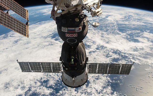 Три космонавта прибыли на МКС