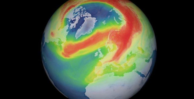 В озоновом слое над Арктикой появилась необычно большая дыра