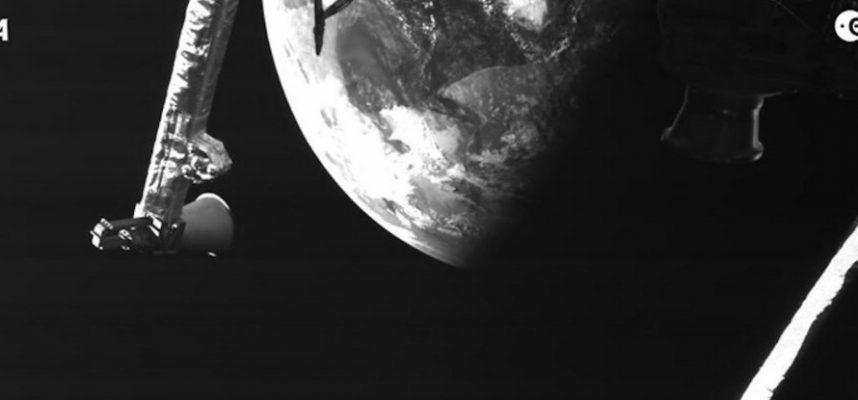 Космический корабль поделился снимком нашей планеты на пути к Меркурию