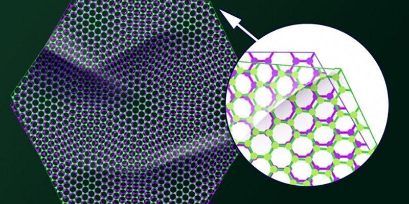 Исследователи показали, как скрученный графен меняет свойства под «магическим углом»