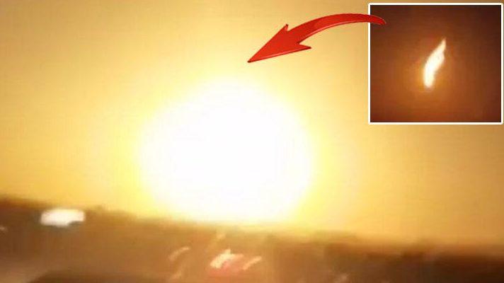 Над Турцией только что взорвался метеор