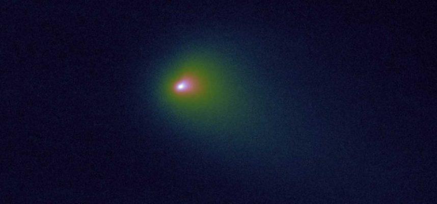 Путешествие первой известной межзвездной кометы продолжается
