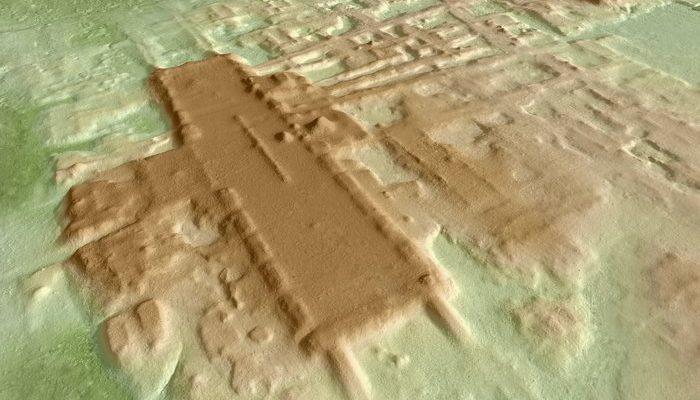 Самый большой и самый старый монумент Майя, найден в Мексике