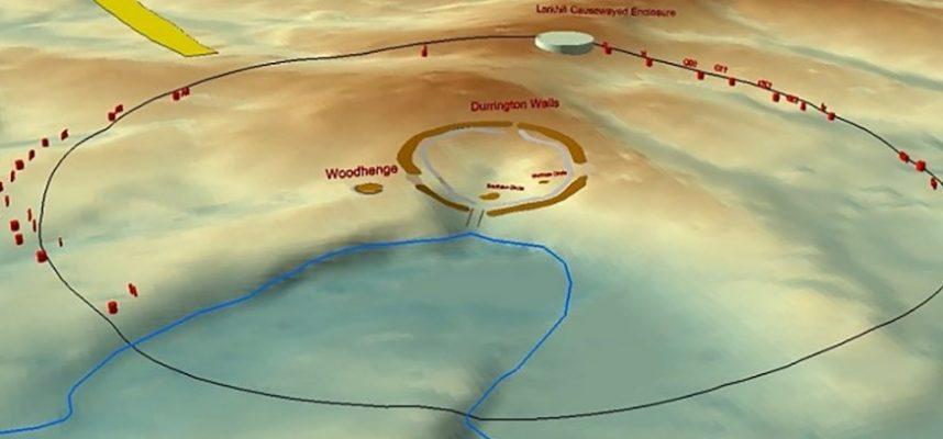 Огромная круговая структура обнаружена вблизи Стоунхенджа
