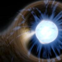 черную нейтронную звезду