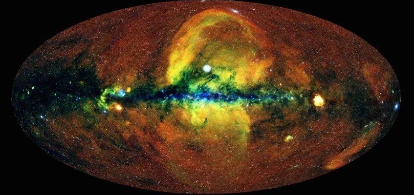 Это то, как выглядит энергетическая Вселенная