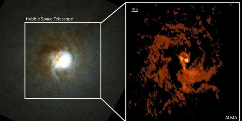 Раскрыт секрет происхождения сверхмассивных черных дыр