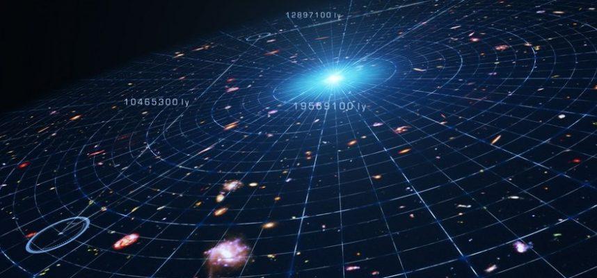 Астрономы обнаруживают гигантскую галактику, возникшую сразу после Большого взрыва