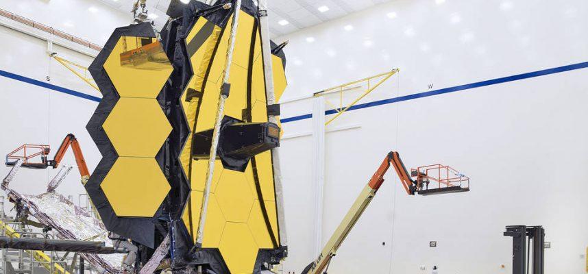 Финальные испытания космического телескопа NASA «Джеймс Уэбб» завершены
