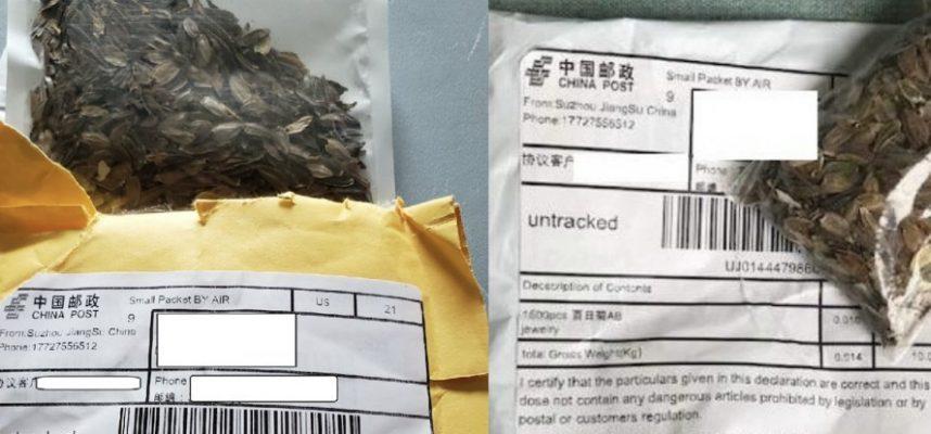 Таинственные китайские семена появляются по всей территории США