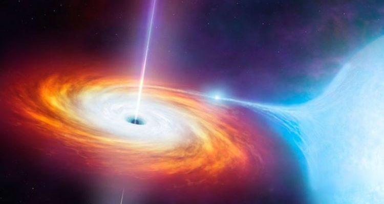 Черная дыра поглотила неизвестный объект вопреки законам физики