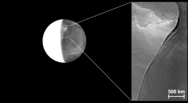 Эпическая волна планетарного масштаба пряталась в ядовитых облаках Венеры на протяжении десятилетий