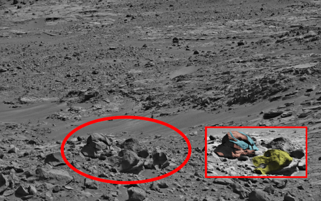 Уфолог заметил на Марсе две «головы» и утверждает, что у НАСА есть доказательства внеземной активности