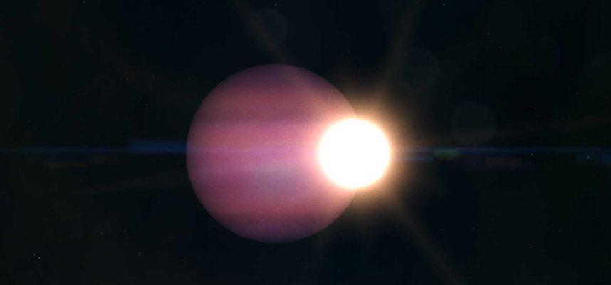 Впервые астрономы обнаружили гигантскую планету, вращающуюся вокруг мертвой звезды