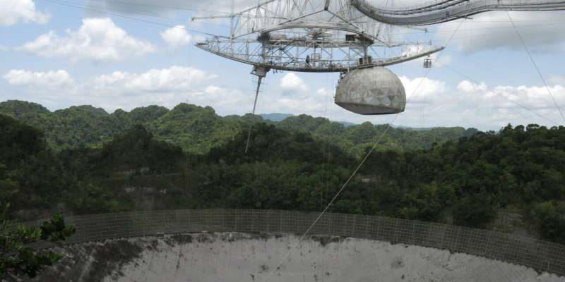 Трагедия для науки: легендарный телескоп в обсерватории Аресибо будет демонтирован