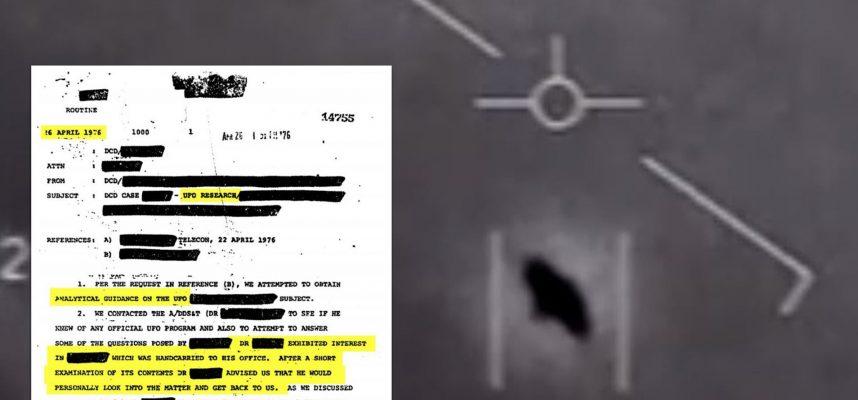 Все документы ЦРУ, касающиеся НЛО, теперь доступны для общественности