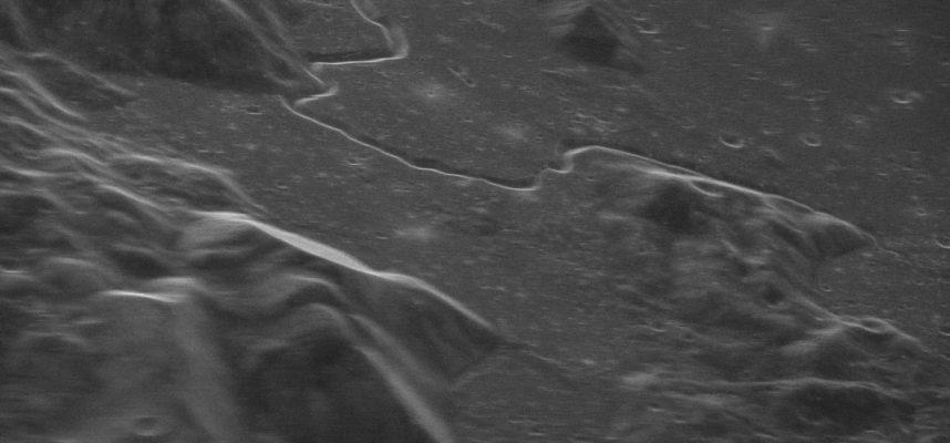 Эта удивительна фотография Луны на самом деле была сделана с Земли