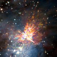 Астрономы обнаружили впечатляющий звездный взрыв