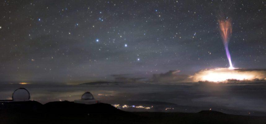 Два редчайших небесных явления попали кадр телескопа